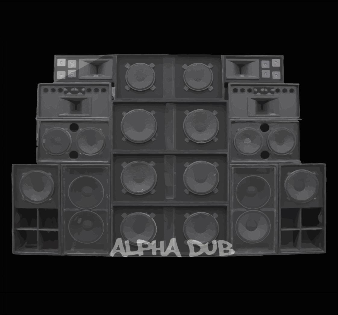 Alpha Dub LP Front
